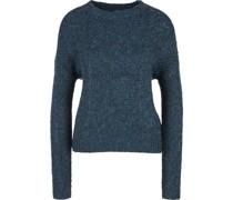 Pullover, Strickoptikelange, Rippbündchen,