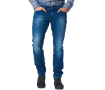 Jeans, Slim Fit, Waschung,