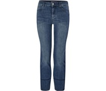 Jeans, 7/8 Länge, uni,