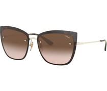 """Sonnenbrille """"0VO4158S"""", Cat Eye,  mm, Filterkategorie 2,"""