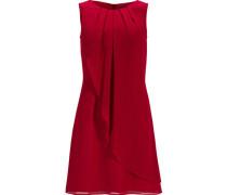 Kleid, Chiffon, Kurz, Asymmetrisch, Uni,