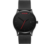 "Armbanduhr ""Classic-Black Leather"" L213.5L.551"