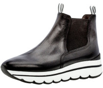 Chelsea Boots, Glattleder, Kontrastsohle,