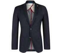 Jeans-Sakko, tailliert, elegant,