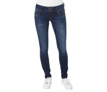 "Jeans ""Molly"", Super Slim Fit, Stretch, Used-Optik,"