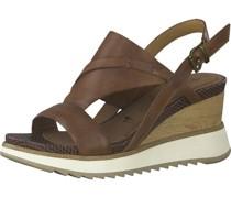 Sandalen, Keilabsatzeder,