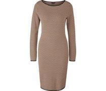 Kleid, Allover Muster,