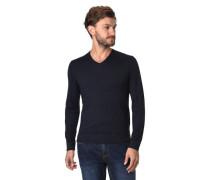 Pullover, Feinstrick, Wolle, V-Ausschnitt