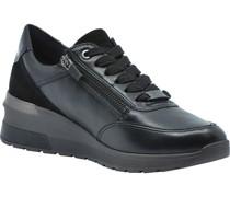 Sneaker, Glattleder, Plateau,