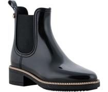 Chelsea Boots, Gummi, Kontrast-Streifen,