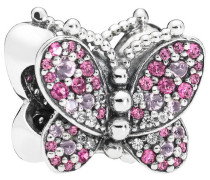 """Charm """"Pink Butterfly"""" 797882NCCMX, 925 Sterling"""