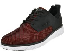 Sneaker, low, Textil, Kunstleder, zweifarbig,