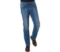Jeans, 5 Pocket, gerader Schnitt,