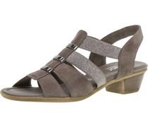 Sandalette, Glitzer,