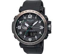 "Armbanduhr ""PRO TREK"" Outdooruhr PRW-6600Y-1ER, Funkuhr, Solaruhrultifunktionsuhr"