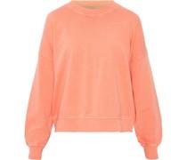 Sweatshirt, Rundhals, Biobaumwolle, uni,