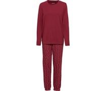 Pyjama, Print, Rundhals,
