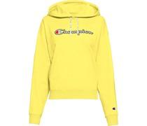 Sweatshirt, Kapuze, Custom Fit, große Logo-Applikation,