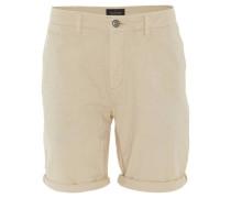 Shorts, Chino-Stil, Regular Fit, Beinumschläge, uni,
