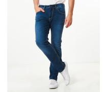 Jeans, 5-Pocket, leichte Waschung,