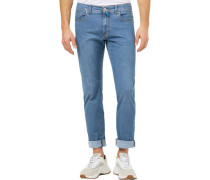 """Jeans """"Lyon tapered"""", 1/1, 5-Pocket, tapered, Waschung,"""