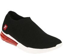 Sneaker, Slip-on, durchsichtige Sohle,