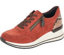 Sneaker, Schnürschuh, Reißverschluss, Kontrast-Details,