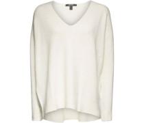 Pullover, Wolleama, überschnittene Schultern,