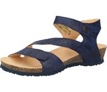 Sandalen, Glattleder, Druckknopf,