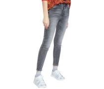 "Jeans ""Alba"", Skinny, 7/8 Länge, Herz,"