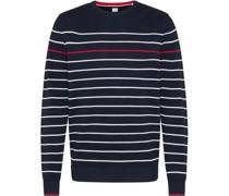 Pullover, Struktur, Baumwolle, Ringel,