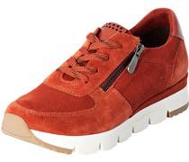Sneaker, Reißverschluss, herausnehmbare Decksohle,