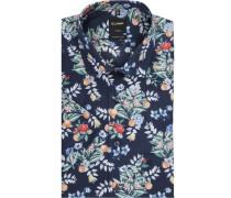 Hemd, kurzärmlig, Allover-Print, modern Fit,
