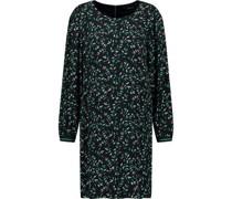 Kleid, kurzangarm, Rundhalsausschnitt,