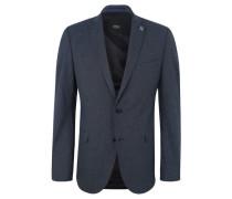 Sakko als Anzug-Baukasten-Artikel, Slim Fit, meliert, Brusttasche, Reverskragen