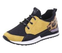 Sneakers, zweifarbig, Schnürverschluss,