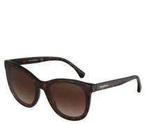"Sonnenbrille ""EA 4125 508913"", Cateye-Look, Horn-Optik, Filterkategorie 3N"
