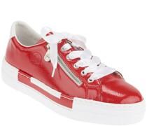 Sneaker, Kunstleder, Plateau-Laufsohle,