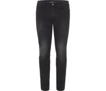 Jeans, Slim Fit, Baumwolle, Waschung,