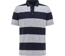 Poloshirt, Blockstreifen, Organic Cotton,