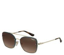 """Sonnenbrille """"VO4112S 848/13"""", Filterkategorie 3, Doppelsteg, Piloten-Stil"""