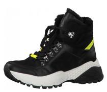 Sneaker Materialmix Neon-Elemente