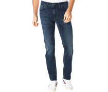 Jeans, modern-fit, 5 Pocket, Hi-Flex,
