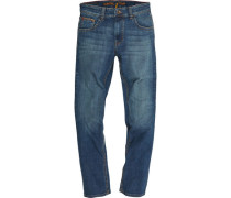 "Jeans ""Houston"", straight fit, mittlere Leibhöhe, 5-Pocket-Design,"