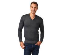 Pullover, Feintrick, Wolle, V-Auchnitt
