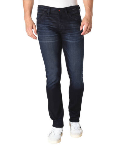 "Jeans ""Glenn"", Slim Fit, Waschungen, Label-Patch"