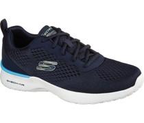 Sneakers, sportlich, Stricklook, Schnürung,