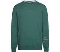 Sweatshirt, Spruch-Aufdruck, Rundhals, Rippbündchen,