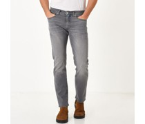 Jeans, Regular Fit, 5-Pocket, Waschung,