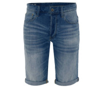 "Jeans-Shorts ""3301"", Regular Fit, Umschlag, Waschung,"